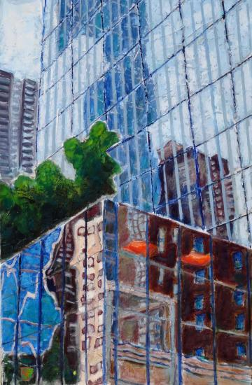New york reflets 30 m 92x60 02 2016 huile 02