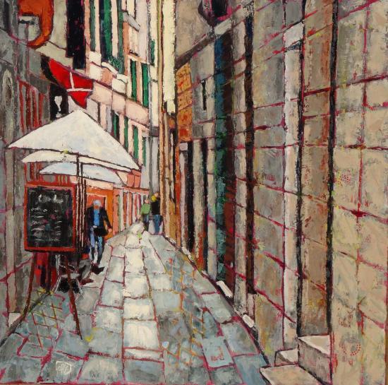 Petite rue de venise 80x80