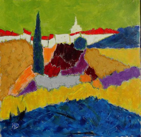 Venasque multicolore 80x80 2020