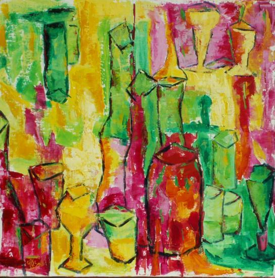 verres-et-bouteilles-60x60-02-2010-acryl.jpg
